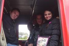 Korisnici DB Borska u poseti Vatrogasnoj brigadi