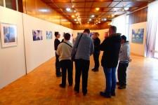 DB Obrenovac na izložbi Mine Glogovac u galeriji Sportko-kulturnog Centra Obrenovac