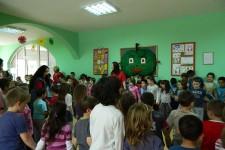 "Druženje sa mališanima iz predškolske ustanove ""Cvrčak"""