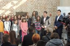 Dvogodišnjica saradnje DB Stari grad JP Beogradska tvrđava