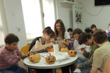 """Haloween craft party"""
