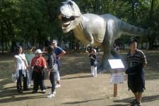 Izložba dinosaura na Ušću