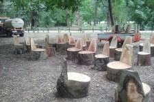 Jesenji radovi u Terapijskom vrtu na Adi
