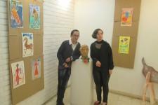 Još jedna samostalna izložba radova korisnika DB Lazarevac u galeriji Simonida