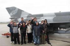 Korisnici DB Sunce u poseti 204. vazduhoplovnoj brigadi