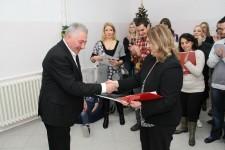 Novogodišnja proslava i paketići za korisnike iz Borske