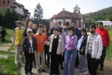 """Poseta manastiru Slanci, DB """"Kornelije Stanković"""""""