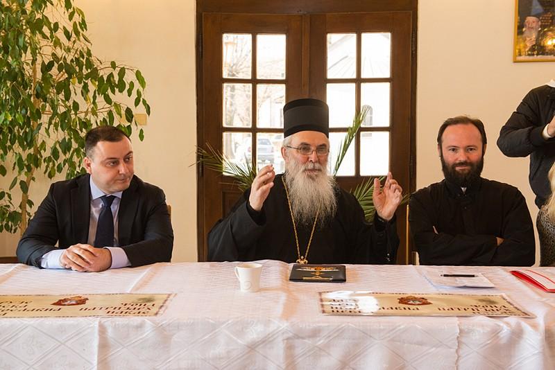 Poseta vladike valjevskog g.Milutina Obrenovcu