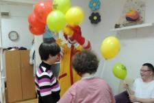 Ronald McDonald u poseti DB Stari grad