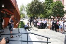 Svečana predaja ključeva novog dnevnog boravka na Novom Beogradu