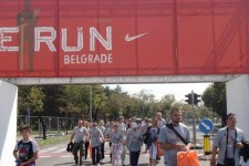"""We run Belgrade"" – rekreativna trka na Ušću"