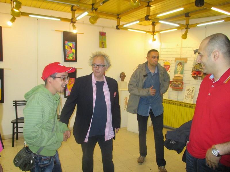 Poseta ministra kulture i informisanja Ivana Tasovca Modernoj galeriji u Lazarevcu