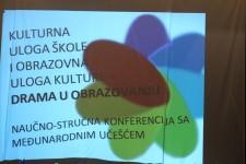 """""""Kulturna uloga škole i obrazovna uloga kulture"""" - međunarodna konferencija"""