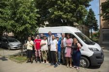 Predstavnici Credit Agricole svečano uručili ključeve specijalizovanog vozila za potrebe DB Obrenovac