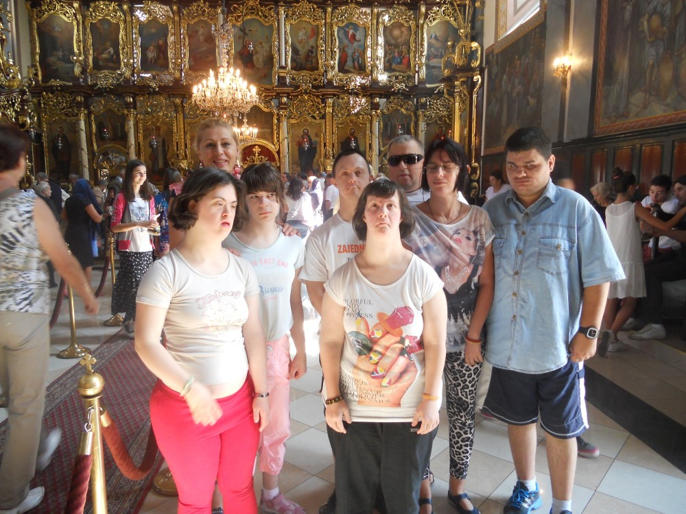 RJ Zemun na Preobraženskoj liturgiji