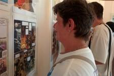 """DB Obrenovac posetio je izložbu """"Savremeni srpski strip"""" u galeriji Sportsko-kulturnog centra Obrenovac"""