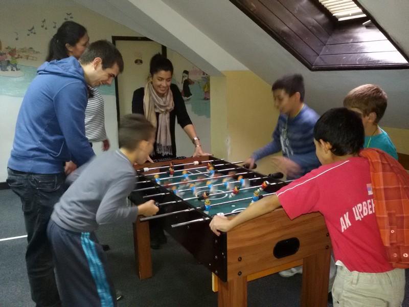 Poseta članova Rotari kluba Domu