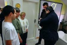 Predsednik GO Obrenovac i član veća posetili DB Obrenovac