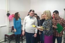 "Priredba povodom Nove godine i poseta predstavnika O.Š. ""Ivo Andrić"" DB Borska"