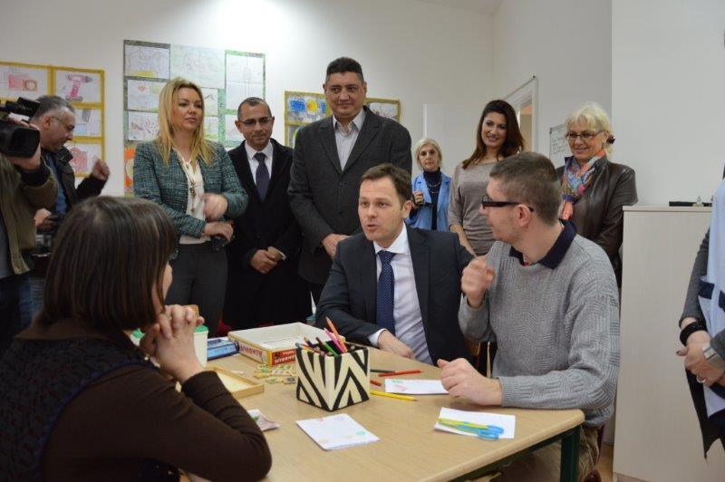 Gradonačelnik Siniša Mali obišao proširen i renoviran DB Čukarica