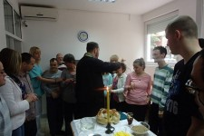 Obeležena slava Sv. Vasilije Ostroški u DB Obrenovac