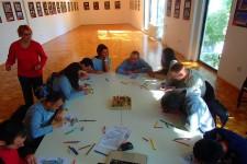 Kreativna radionica u galeriji SKC-a