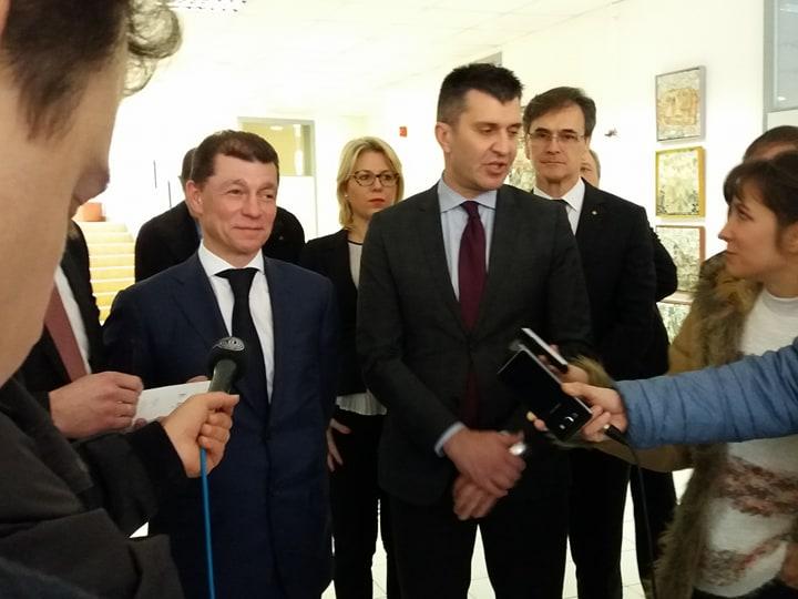 Ministri Đorđević i Topilin obišli  DB Šekspirova