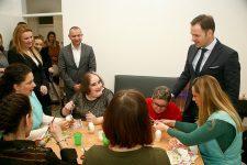 Gradonačelnik Siniša Mali otvorio novi objekat Centra – Dnevni boravak u Ovči
